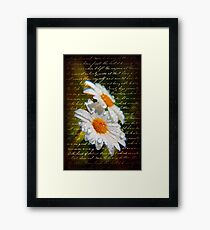 Simple Love.... Framed Print