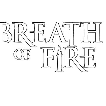 Breath of Fire Logo by CDSmiles