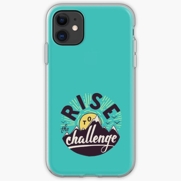 Rise to the challenge iPhone Soft Case