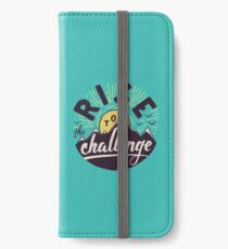 Rise to the challenge iPhone Wallet/Case/Skin