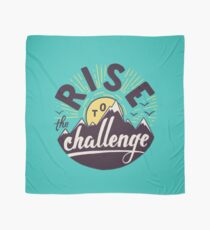 Rise to the challenge Scarf