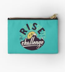Rise to the challenge Zipper Pouch