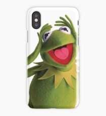Kermit The Frog (Muppets) iPhone Case/Skin