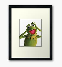 Kermit The Frog (Muppets) Framed Print