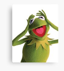 Kermit The Frog (Muppets) Canvas Print