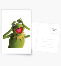 Kermit The Frog (Muppets) Postcards
