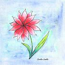 A Single Flower by CarolineLembke