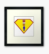 The Man of Tin.  Framed Print