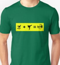 Formula To Become The Iron Fist Unisex T-Shirt