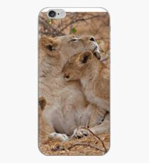 Lioness With Her Cubs iPhone Case
