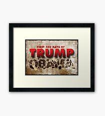 Trump The POTUS Destructivus Framed Print