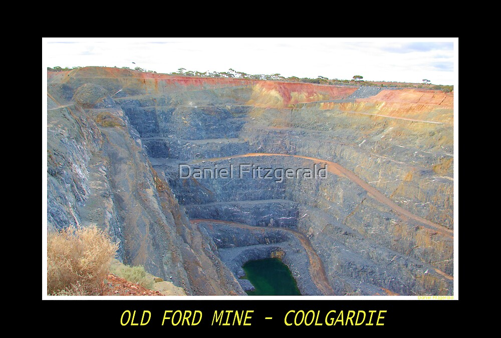 Old Ford Mine - Coolgardie by Daniel Fitzgerald