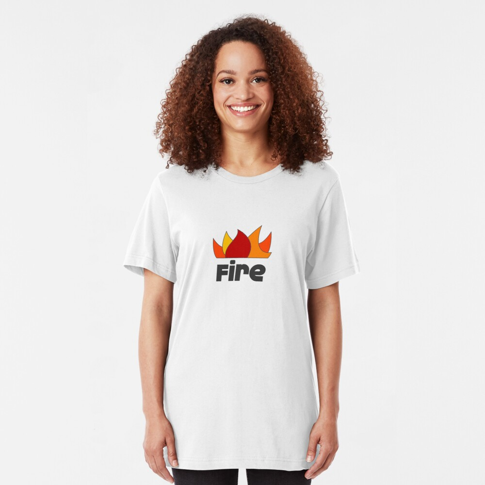 Fire Slim Fit T-Shirt