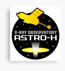 ASTRO-H (NeXT) X-Ray Telescope Program Logo Canvas Print