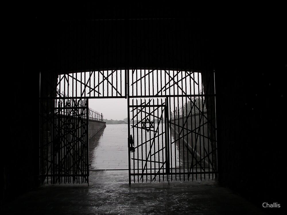 Jewish Memorial in Dachau by Challis