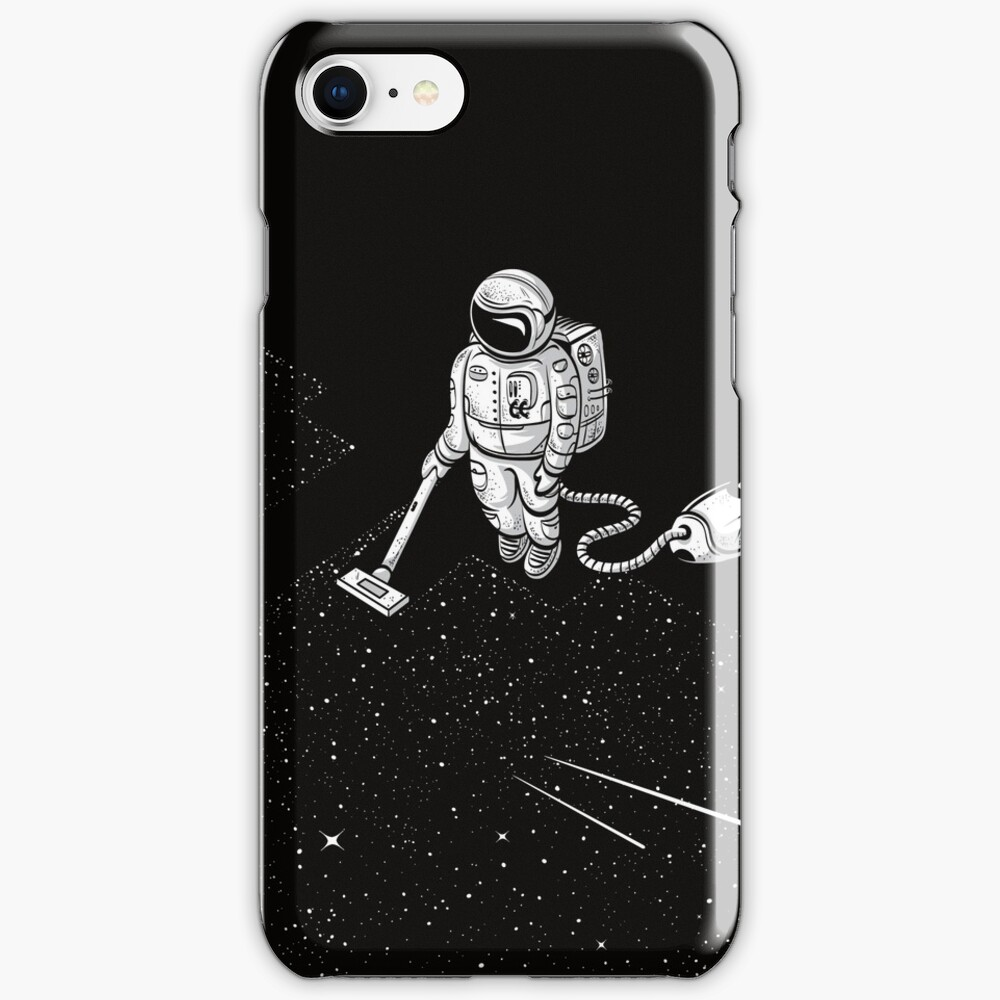 Space Cleaner iPhone Case & Cover