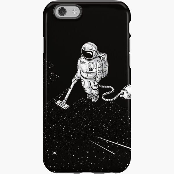 Space Cleaner iPhone Tough Case