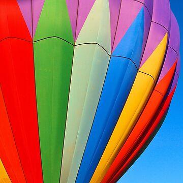 Close Up Hot Air Balloon by tvlgoddess