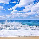Ocean surf by Elena Elisseeva
