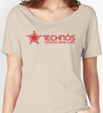 Technos Japan Women's Relaxed Fit T-Shirt