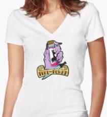 Feel the Power Women's Fitted V-Neck T-Shirt