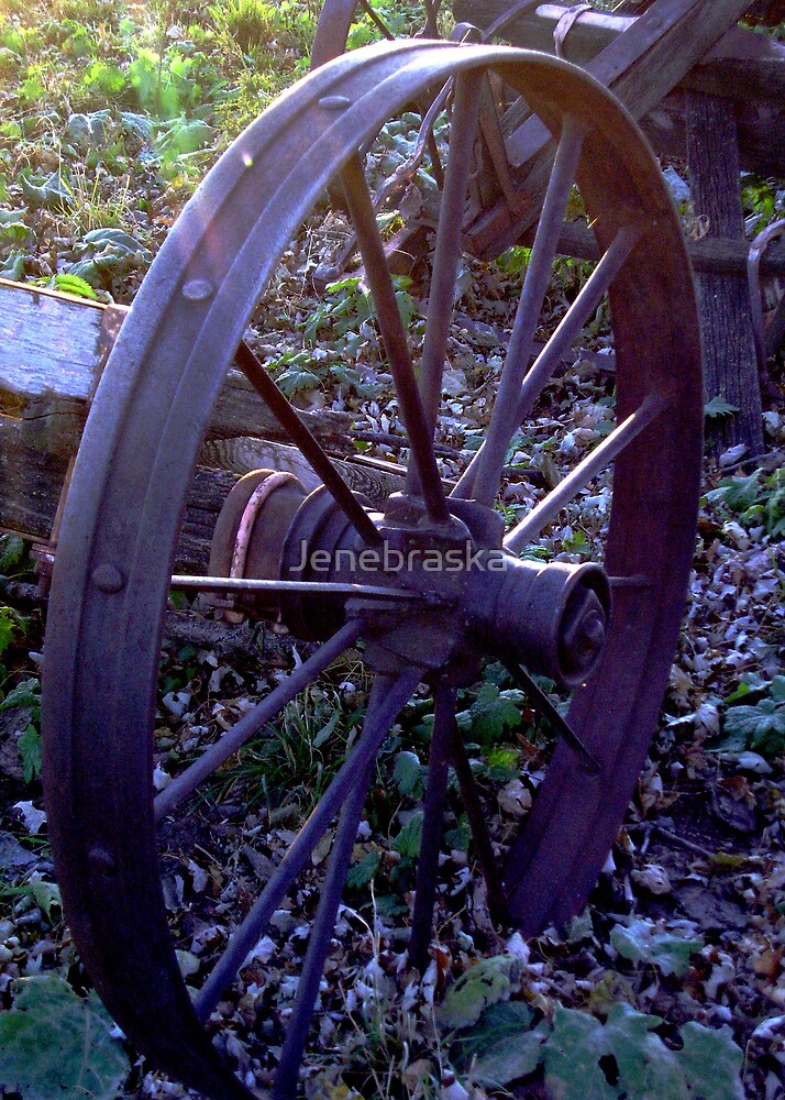 Metal Wheel by Jenebraska
