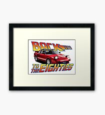 Toyota MR2 MK1 - 80s Framed Print