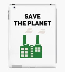 Save the Planet! iPad Case/Skin