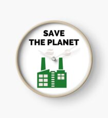 Save the Planet! Clock