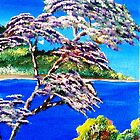 Lovely Lavendar Tree by WhiteDove Studio kj gordon