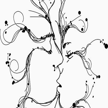 kiss by makingali