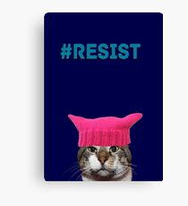 Resist (Charlie) Canvas Print