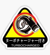 JDM - Turbocharged Sticker