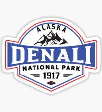 DENALI NATIONALPARK ALASKA BERGE WANDERN CAMPING CAMPING 3 Sticker
