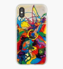 Disintegration of a Highly Colored Fish Eye iPhone Case