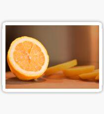 Lemon dressing for healthy eating lovers Sticker