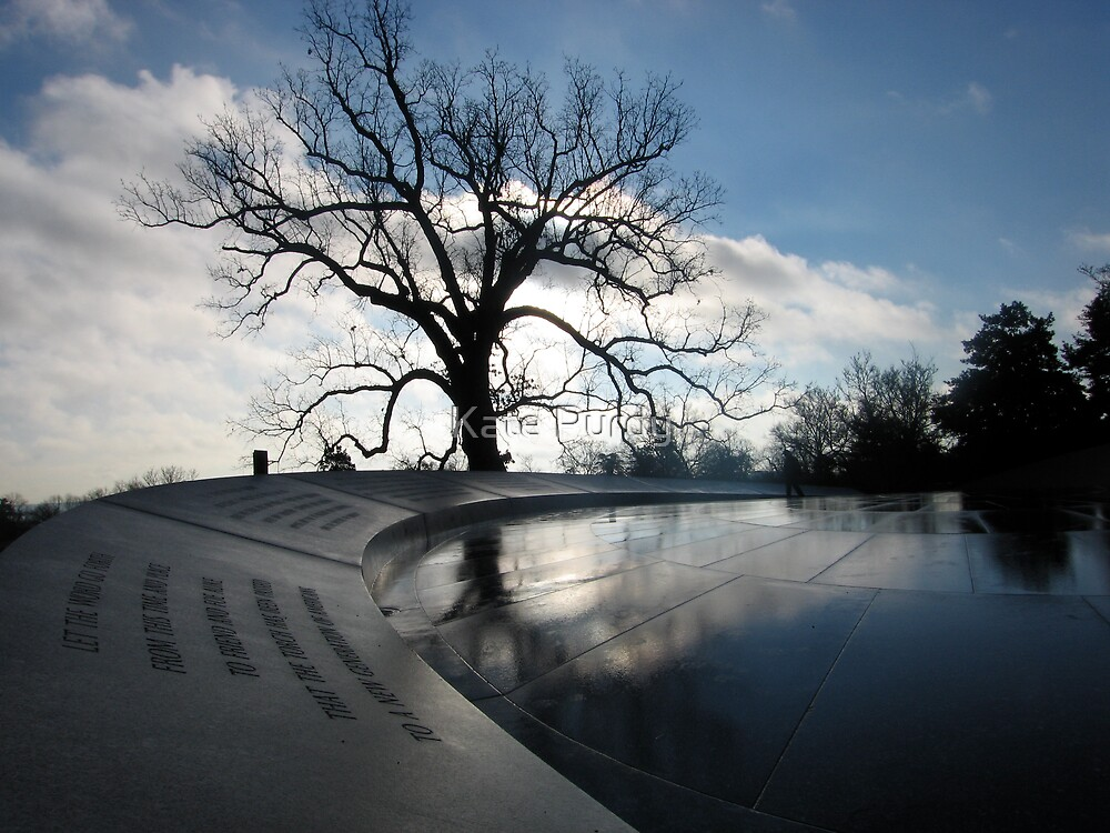 WWII Memorial Early AM by Kate Purdy