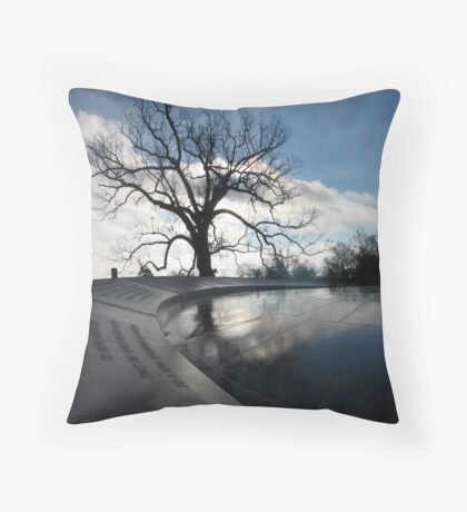 WWII Memorial Early AM Throw Pillow