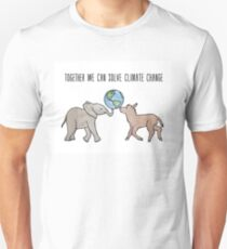 Together We Can Solve Climate Change Unisex T-Shirt