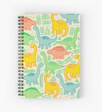 Cuaderno de espiral Fiesta de dinosaurios