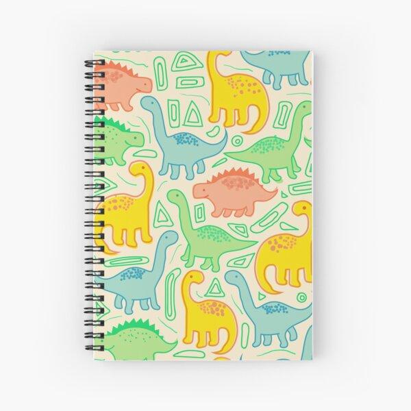 Dinosaur party Spiral Notebook