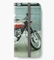 35mm motorcycle photo iPhone Wallet/Case/Skin