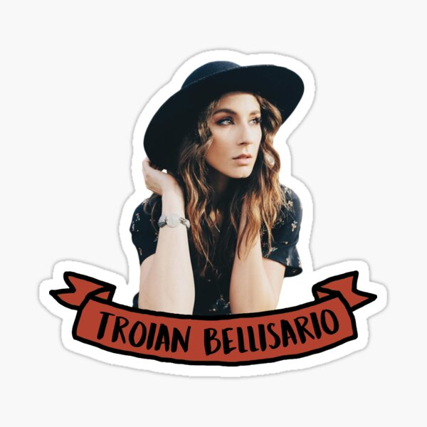 Troian Bellisario Sticker