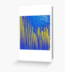 Evaporated Greeting Card