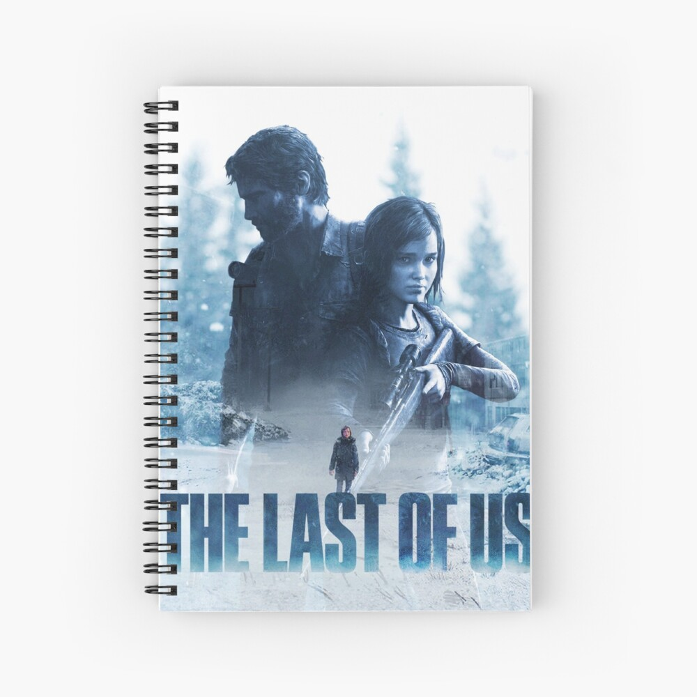 """The Last Of Us """"Cold Winter"""" Spiral Notebook"""