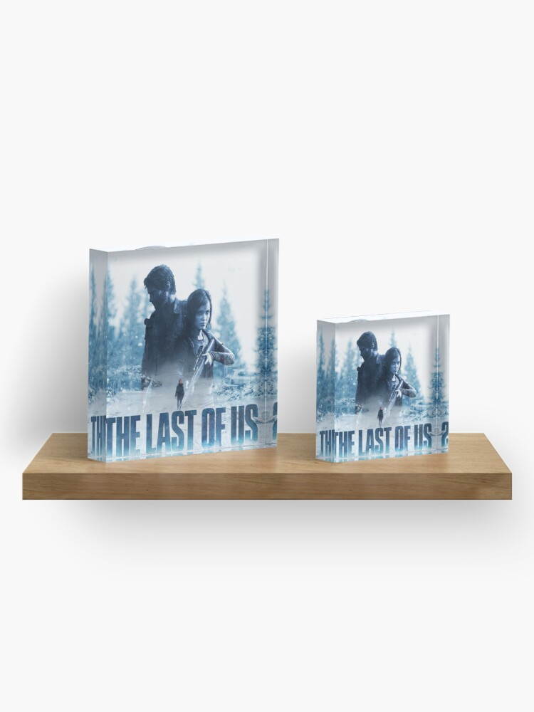 "Alternate view of The Last Of Us ""Cold Winter"" Acrylic Block"
