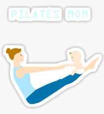 Pilates mom Sticker