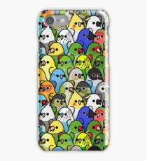 Too Many Birds! Bird Squad 1 iPhone Case/Skin