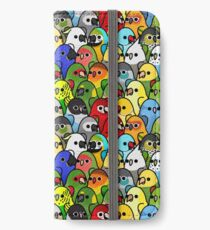 Zu viele Vögel! Bird Squad Classic iPhone Flip-Case/Hülle/Klebefolie