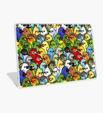 Too Many Birds! Bird Squad 1 Laptop Skin